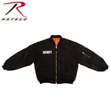 "Rothco ""Security"" MA-1 Flight Jacket (R-7357/58/59) - Hahn's World of Surplus & Survival - 1"