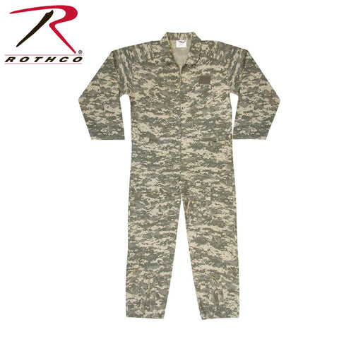 Rothco Long Sleeve Flightsuits A.C.U. Digital Camo (7412, 2XL-7413, 3XL-7414) - Hahn's World of Surplus & Survival