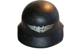 Vintage WWII German M38 Luftschutz Air Defense Helmet