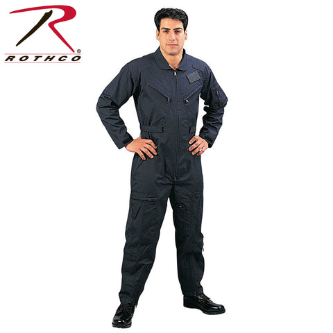 Rothco Long Sleeve Flightsuits Navy Blue (R-7503/06/19/7423) - Hahn's World of Surplus & Survival