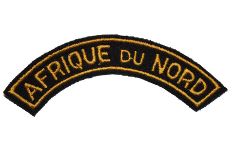 Collector's Patch: French Afrique du Nord Tab