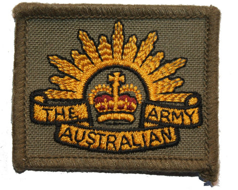 Collector's Patch: The Australian Army