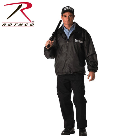 Rothco Security Reversible Nylon Polar Fleece Jacket (R-7609/10/11) - Hahn's World of Surplus & Survival