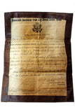 WWI Honorable Discharge Paperwork/ Relative Birth Certificate