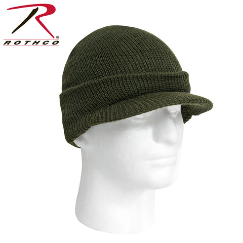 Genuine G.I. Jeep Cap - Black & Olive Drab