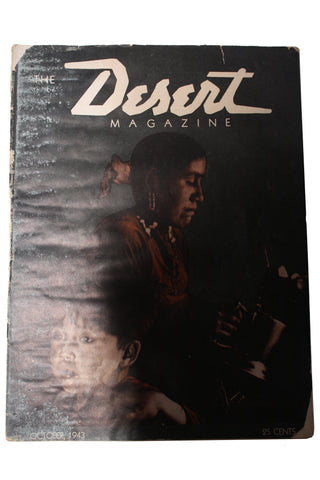 Vintage October 1943 Desert Magazine