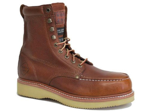 "Work Zone 8"" Brown Work Boot (S834) - Hahn's World of Surplus & Survival"