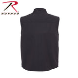 Rothco Concealed Carry Soft Shell Vest - Black (R-86500) - Hahn's World of Surplus & Survival - 4