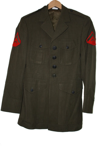 SALE USMC Marine Corps Alpha Class A Dress Jacket