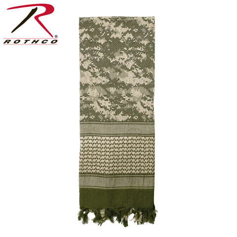 Rothco Shemagh Tactical Desert Scarf - Acu Digital  (R-88537) - Hahn's World of Surplus & Survival