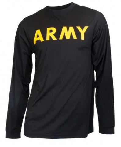 Soffe T-Shirt (PT) - Army Long Sleeve