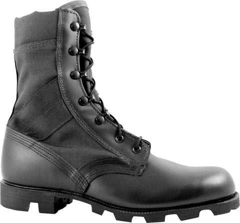 McRae Hot Weather Jungle Boot with Panama Outsole - Black (MR-9189) - Hahn's World of Surplus & Survival - 1