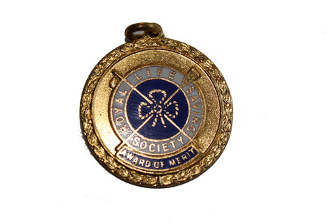 SALE Vintage R.L.S.S. Award of Merit Medal