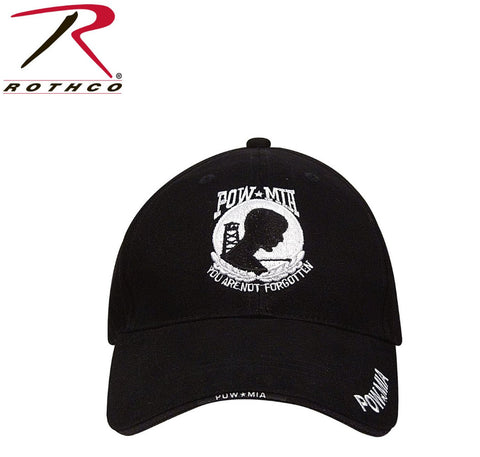 Rothco POW/MIA Black Ball Cap (R-9369) - Hahn's World of Surplus & Survival