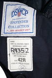 SALE USED Double Breasted Military Trench Raincoat w/liner - Navy (969HWS-MTR)