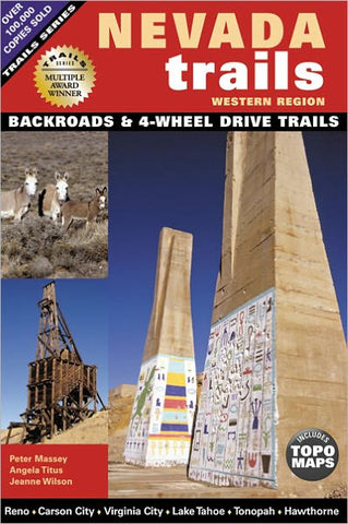 Book: Nevada Trails Western Region (HWS-2737) - Hahn's World of Surplus & Survival