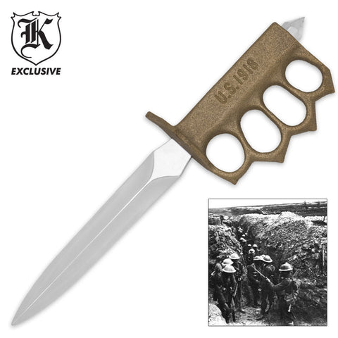 BUDK WWI Trench Knife (BUDK-BK984) - Hahn's World of Surplus & Survival