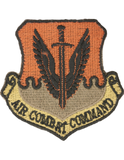 Patch - USAF - Air Combat Command Scorpion Patch w/Fastener (TSR-AF-PMV-P001A)