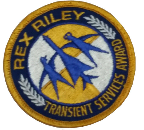 Collectors Patch: Rex Riley Transient SVS Award (HWS-B1-E19)