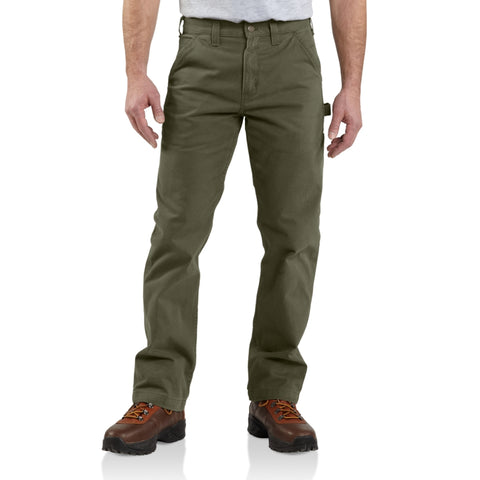 Carhartt Pants - Relaxed fit Washed Twill Dungaree - Army Green (CH-B324-ARG)