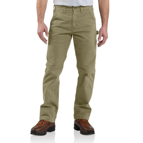 Carhartt Pants - Relaxed fit Washed Twill Dungaree -Dark Khaki (CH-B324-DKH)