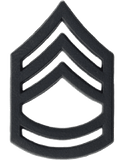 Rank - U.S. Army - Enlisted Black Metal Insignias (TSR-BM101)