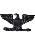 Rank - U.S. Army - Officer Black Metal Insignias