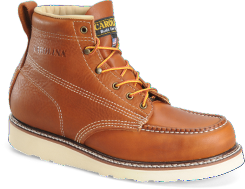 "Carolina Men's 6"" Domestic MOC Toe Wedge Boot (CA7003) - Hahn's World of Surplus & Survival"