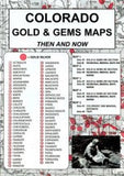 Gold & Gems Maps Then & Now (ND-GGMTN) - Hahn's World of Surplus & Survival - 4