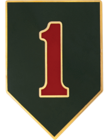 Badge - 1 Infantry Div Unit Identification (TSR-D-P0001A)