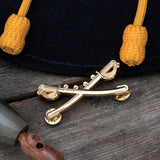 BUDK Gold Cavalry Hat Pin (BK2960)