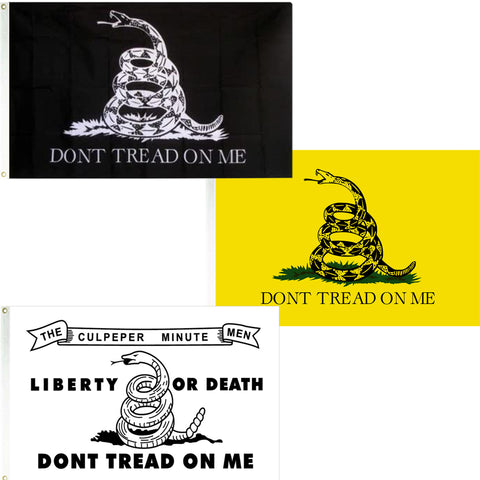Flag - Don't Tread On Me - Printed Super Polyester