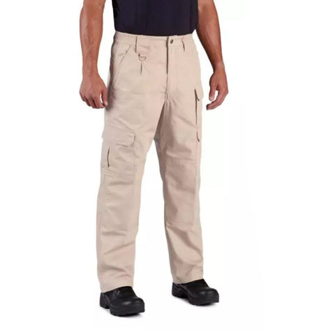 Propper Pants - Men's Tactical Lightweight 65/35 Poly/Cotton Ripstop - Khaki