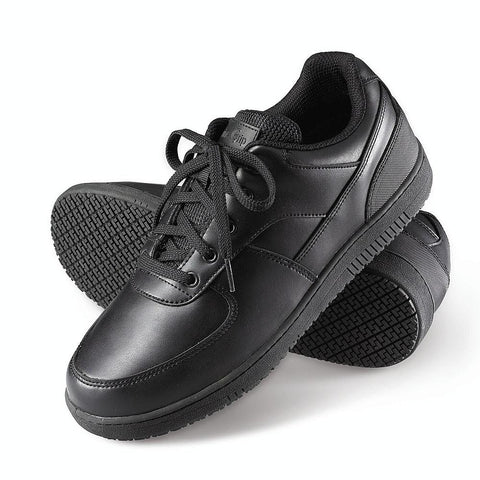 Genuine Grip Men's Black Shoe (GG-2010) - Hahn's World of Surplus & Survival - 1
