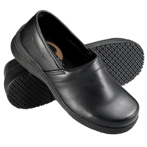 Genuine Grip Women's Slip on Shoe - Black