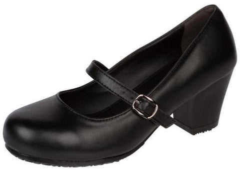 Genuine Grip Women's Mary Jane Shoe - Black