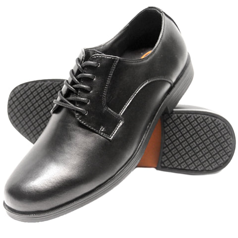 Genuine Grip Men's Dress Black Shoe - Black