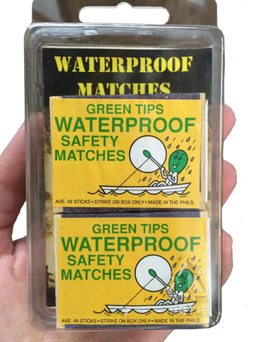 Matches - HQ Company Waterproof - 2 pack