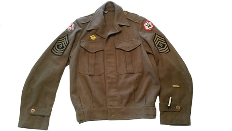 SALE Vintage Authentic 1942 Military Ike Jacket