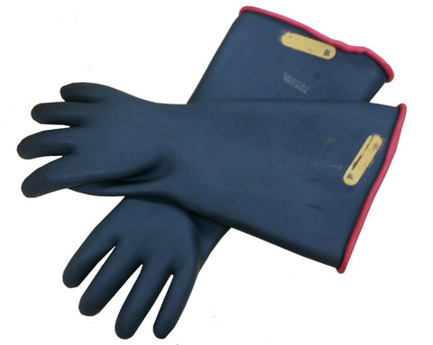 Gloves - Industrial Rubber -  18-inch