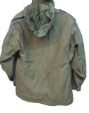 USED U.S. Army Cold Weather M65 Field Jacket w/Hood & Patches