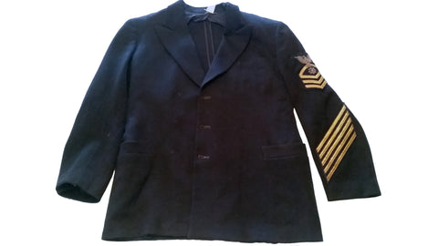 SALE US Navy Officers Blue Service Coat