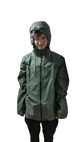 Wet Weather Nylon Jacket - Olive (HWS-WWJ)