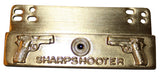 SALE Sharp Shooter Award Name Badge Tab