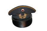 * 1968 West German Air Force Officer's Hat - Landgraf Bamberger (2HWS-1968-OGMLB)