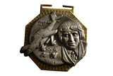 SALE Vintage 1990 German Oberst Rudel Hiking Medal (39-HWS-GHM)