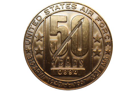 USAF 50 Years #0894 Commemorative Coin