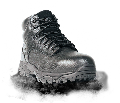 "Iron Age Trencher 6"" Work Boot - Black"