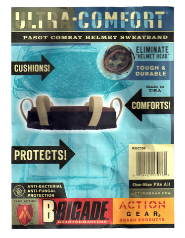 Action Gear Brigade PASGT Combat Helmet Sweatbands
