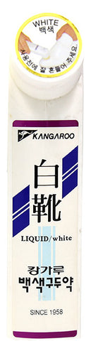 Kangaroo Liquid Shoe Polish - White
